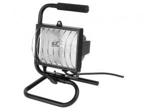 světlo halogenové přenosné s podstavcem, 400W, svítivost jako 500W, kabel 1,7m, EXTOL CRAFT