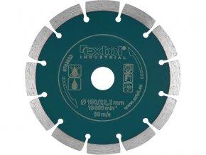 kotouč diamantový řezný segmentový Grab Cut, 150x22,2mm, suché řezání, EXTOL INDUSTRIAL