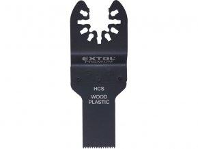 list pilový zanořovací na dřevo 2ks, 20mm, HCS, EXTOL PREMIUM