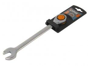 klíč ráčnový očkoplochý, 72 zubů, 15mm, CrV, EXTOL PREMIUM