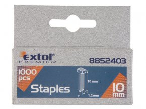 hřebíky, balení 1000ks, 14mm, 2,0x0,52x1,2mm, EXTOL PREMIUM