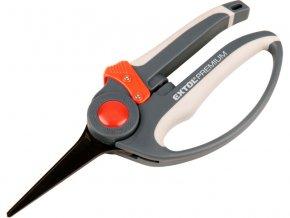 nůžky zahradnické přímé, 215mm, na stříhání rostlin do průměru 5mm, HCS, EXTOL PREMIUM