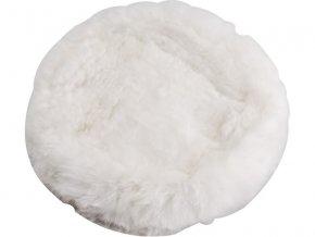 kotouč leštící, ∅180mm, ovčí rouno, suchý zip, EXTOL PREMIUM