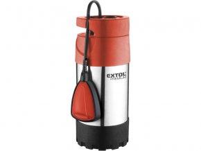 čerpadlo el. ponorné tlakové, 1000W, 5500l/hod, EXTOL PREMIUM, SPF 1000 G4