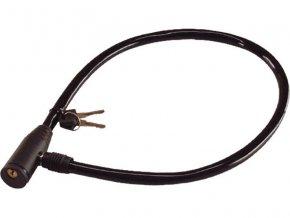 zámek na kolo - lanko, 600mm, 2 klíče, EXTOL CRAFT