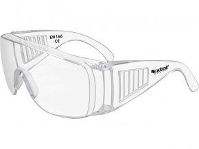 brýle ochranné polykarbonát, univerzální velikost, čirý, panoramatický zorník třídy F,, EXTOL CRAFT