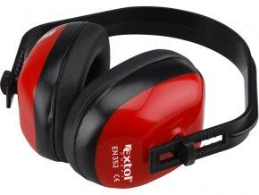chrániče sluchu celoplastové, hmotnost 106g, EXTOL CRAFT