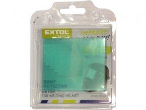 sklo ochranné pro svářecí kuklu, 5ks, EXTOL CRAFT