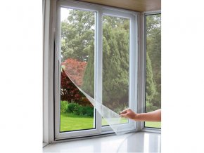 síť okenní proti hmyzu, 100x130cm, bílá, PES, EXTOL CRAFT