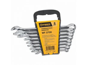 WT2720 - Klíče očkoploché 8 ks (8-19 mm)