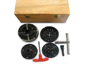 Čtyřčelisťové sklíčidlo Profi M33 × 3,5 - sada  + Dárek dle vlastního výběru
