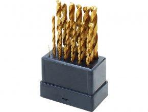 DÁREK 4 - vrtáky do kovu, sada 19ks, ∅1-10mm, po 0,5mm, leštěné, HSS TiN, EXTOL CRAFT v hodnotě 310,-Kč