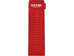 klín rozevírací, nylonový, rozměry (d/š/tl.): 180x65x20mm, nylon, EXTOL PREMIUM
