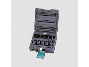 """Sada průmyslových zástrčných XZN 1/2"""" 5ks M05 M06 M08  M10  M12x78mm"""