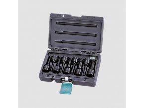 """Sada průmyslových zástrčných TRX 1/2"""" 9ks T25-27-30-40-45-50-55-60-70x78mm"""