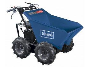 Scheppach DP 3000 -kolový přepravník 4x4 s nosností 300 kg a mechanickým sklápěním korby  + Dárek dle vlastního výběru