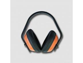Červená sluchátka 21dB