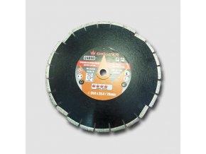 Diamantový kotouč na asfalt 350x25,4 mm, výška segmentů 10 mm  + Dárek dle vlastního výběru
