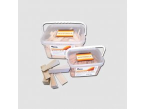 Klínky montážní 80x25x10-3 mm - balení 150 ks vědro