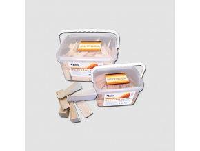 Klínky montážní 150x25x25-1 mm - balení 60 ks vědro
