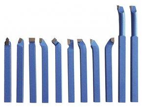 Soustružnické nože HM 10 mm, 11 ks