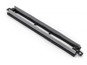 Násada s gumovým lemem pro hubici na podlahu, š. 28 cm