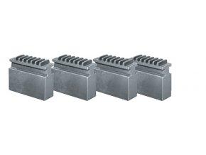 Měkké čelisti pro 4-čelisťové sklíčidlo Ø 125 mm