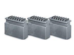 Měkké čelisti pro 3-čelisťové sklíčidlo Ø 160 mm