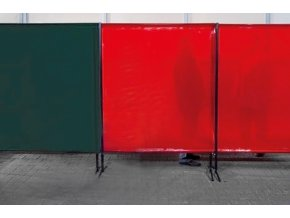 TransEco ochranná zástěna 2050 V, červená 2050 × 1870 mm  + Dárek dle vlastního výběru