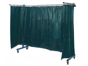 TransFlex ochranná zástěna, tmavě zelená 3700 × 1950 mm  + Dárek dle vlastního výběru