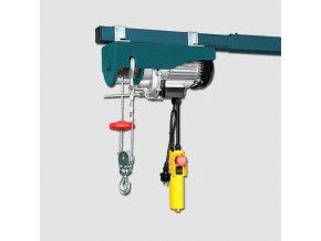Elektrický lanový zvedák 500W YT-125/250-A 125/250kg,lano 12/6m  + Dárek dle vlastního výběru