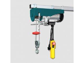 Elektrický lanový zvedák 1000W YT-300/600-G 300/600kg,lano 12/6m  + Dárek dle vlastního výběru