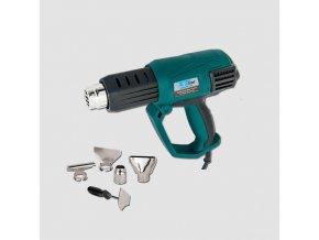 Opalovací pistole 3stupně PLD2230 2000W  s příslušenstvím