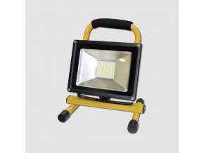 LED reflektor přenosný, 30W neutrální bílá