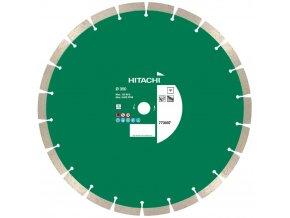 HITACHI univerzální segmentový diamantový kotouč 350 x 25,4