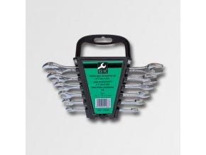 Sada plochých klíčů 6-17 mm 6 dílů chrom