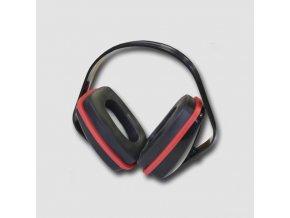 Červená sluchátka