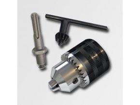 Sklíčidlo zubové závitové 1,5-13,0mm 1/2-20UNF + redukce SDSplus