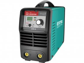 EXTOL INDUSTRIAL - Invertor svařovací 200A Smart  + Dárek dle vlastního výběru
