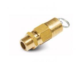 """Pojistný ventil 15 bar, 1/2"""", CE 97/23"""