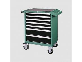 Montážní vozík na nářadí kovový vybavený 215dílů  677x459x1000mm  + Dárek dle vlastního výběru