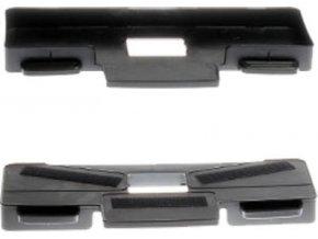 Držák padů pro výklopný kartáč pro flexCAT 112/116 Q