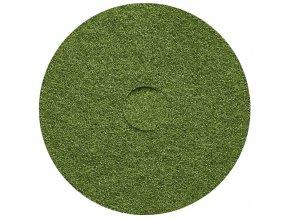 """Čistící pad, zelený 16""""/40,6 cm"""