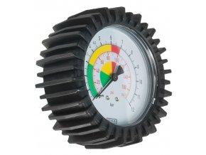 Náhradní manometr pro pneuhustič PRO Ø 80 mm, cejchovatelný