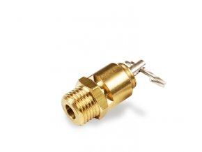 """Pojistný ventil 15 bar, 1/4"""", CE 97/23"""