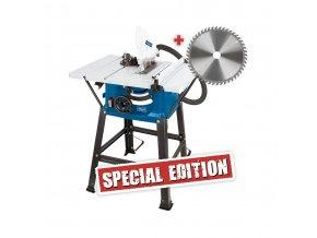 Scheppach HS 81 S Special Edition stolová pila  + Dárek dle vlastního výběru