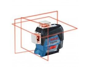 BOSCH Čárový laser GLL 3-80 C+BT150