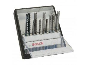 BOSCH 10-dílná sada pilových plátků Robust line Wood and Metal