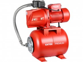 EXTOL PREMIUM - čerpadlo proudové s tlakovou nádobou, 750W  + Dárek dle vlastního výběru