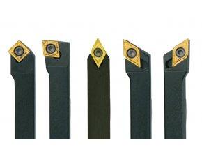 Sada soustružnických nožů HM 12 mm - 5 ks
